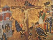 Henri Belle-chose Christ on the Cross with the Martyrdom (mk05) oil painting artist